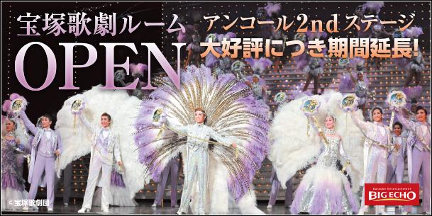 「宝塚歌劇~アンコール・ステージ2nd~」ルーム