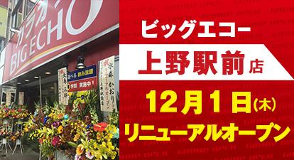 カラオケ ビッグエコー上野駅前店