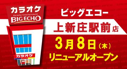 カラオケ ビッグエコー上新庄駅前店